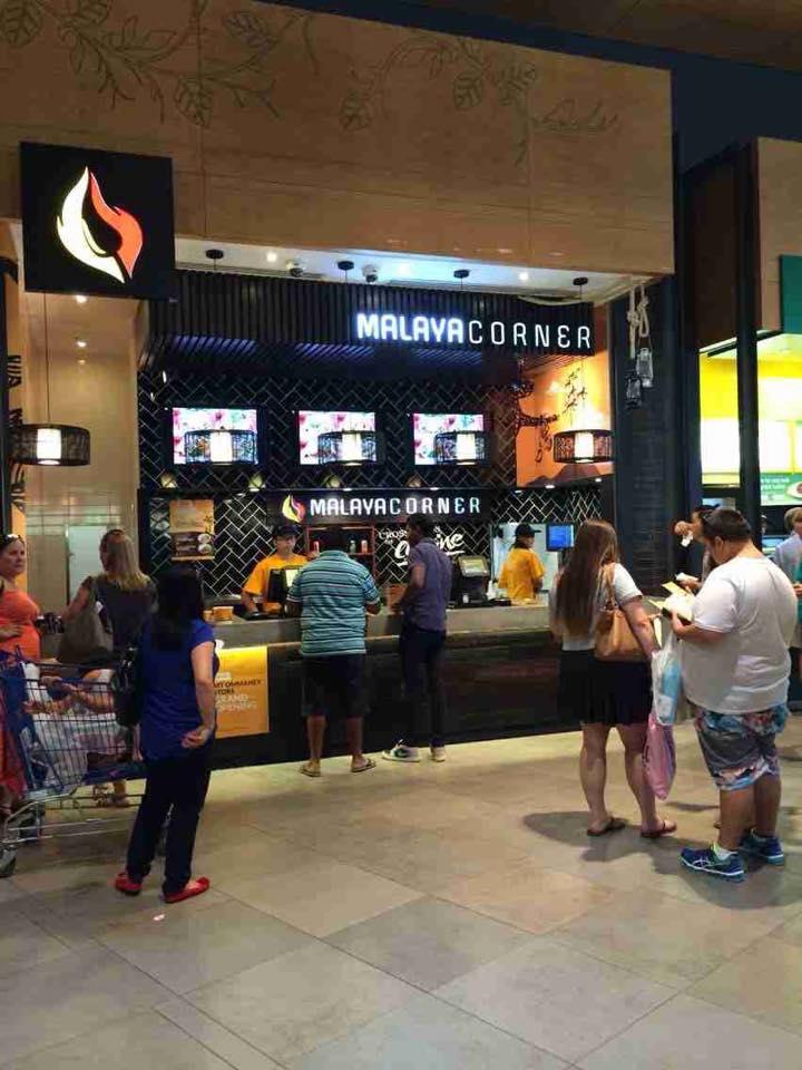 Malaya Corner Mt Ommaney Shopping Centre grand opening