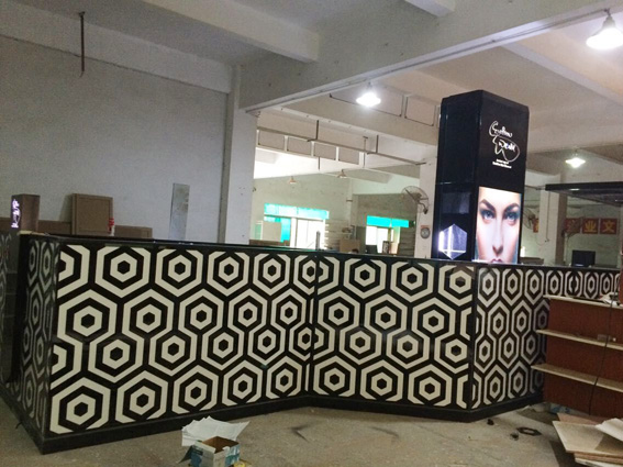 Kiosk fit out