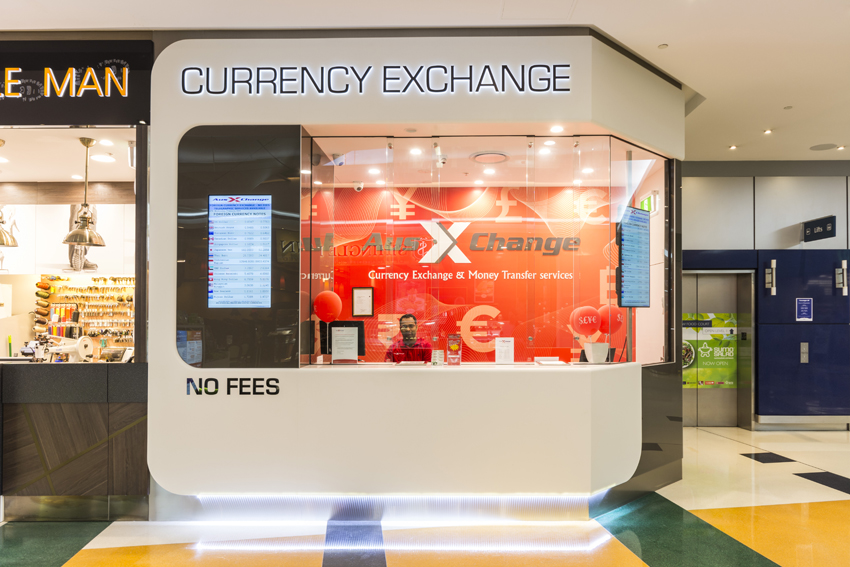 AusXchange currency exchange kiosk design