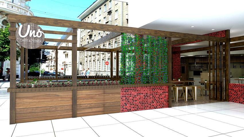 Pizzeria restaurant designer Brisbane