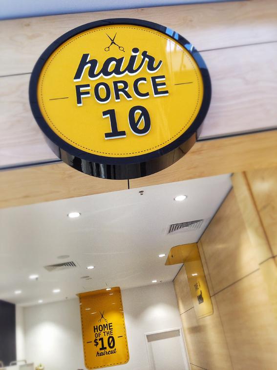 Hair Force 10 | Tweed Heads
