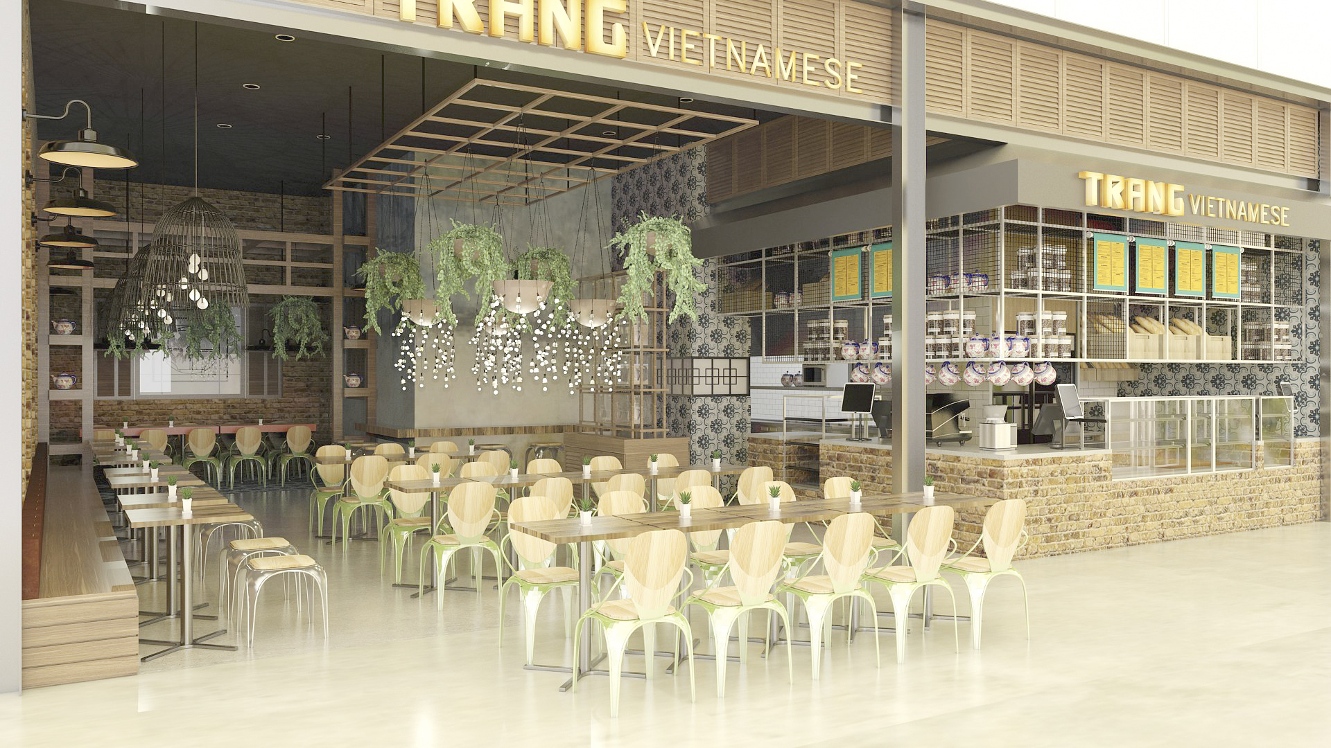 Vietnamese Restaurant Retail Design
