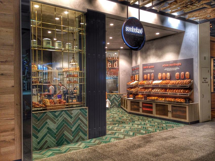 Bakery retail design