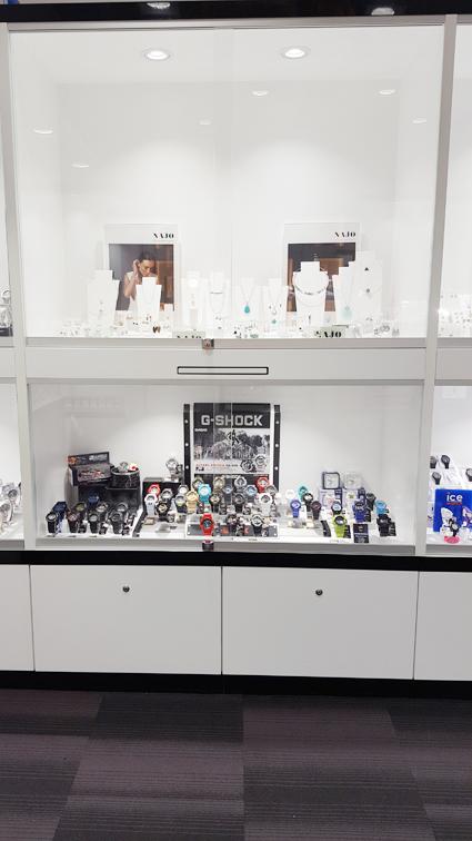 H & S Jewellers retail shop design