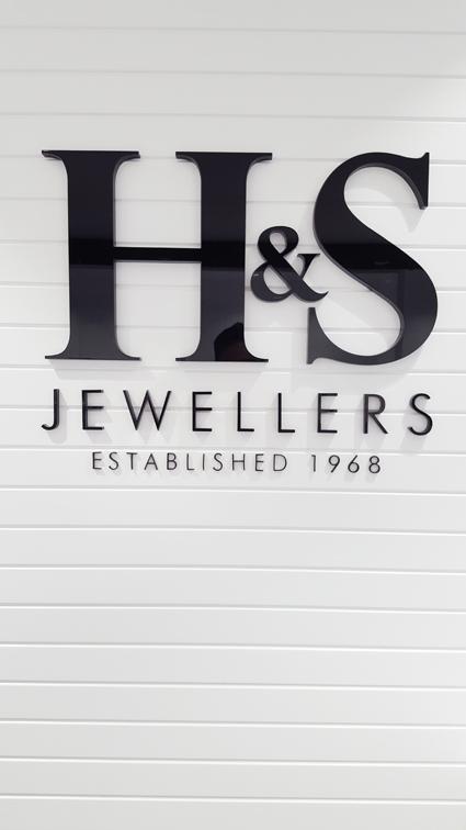 H & S Jewellery shop design refurbishment