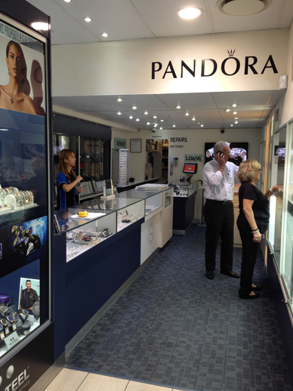 Jewellery retail design Gold Coast