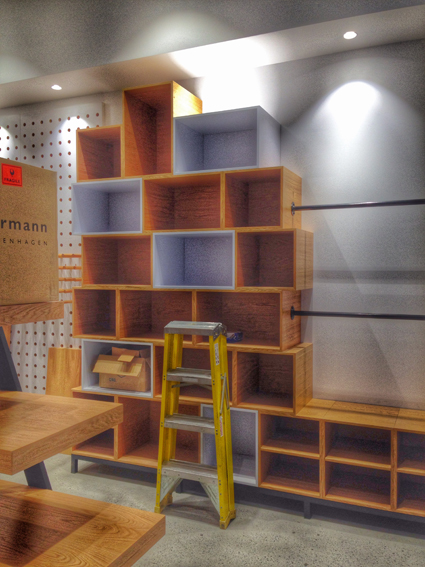 Homewares store design