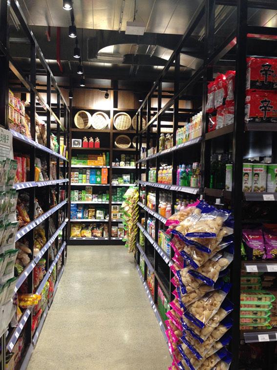 shop design asian supermarket
