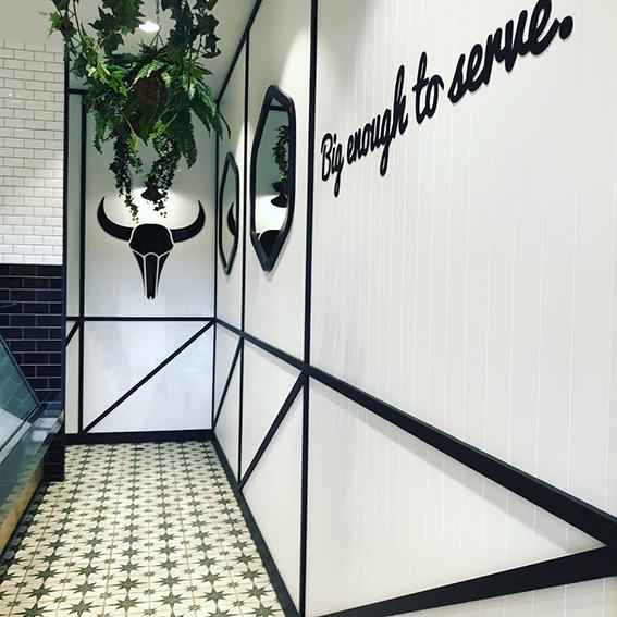 Butcher store designer