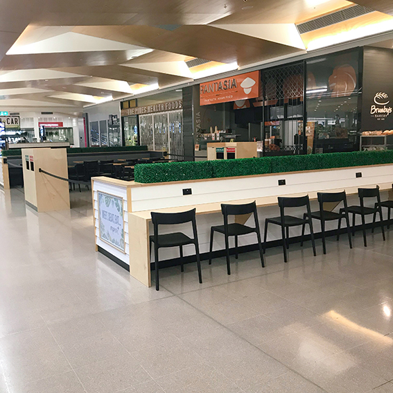 Mall Dining Area | The Pines Elanora