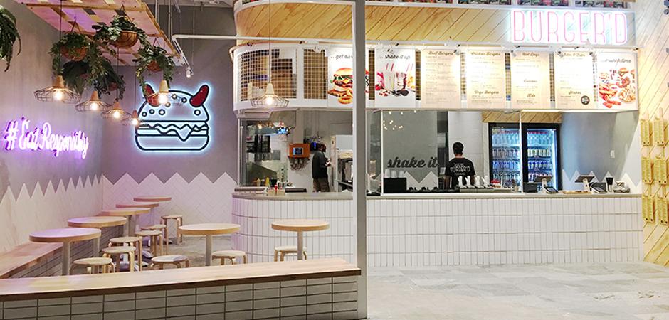 Burger'd | Burger Shop Designer Gold Coast