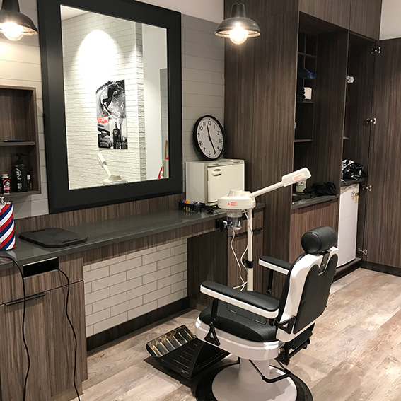 Barber shop designer Brisbane Gold Coast