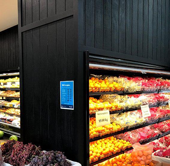 Green Grocer Juice Bar Shop Design Concept